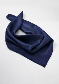 Damen Halstuch in dunkelblau