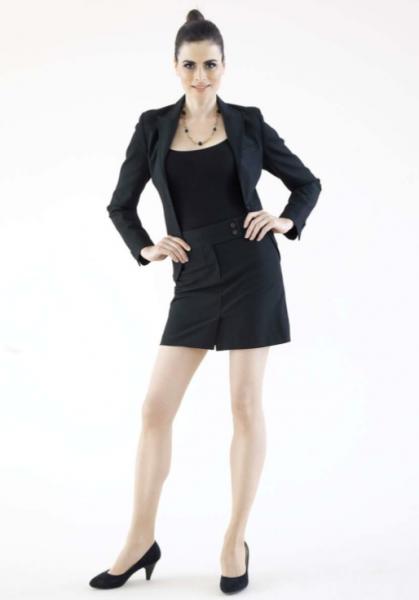 Kostüm (schwarz)
